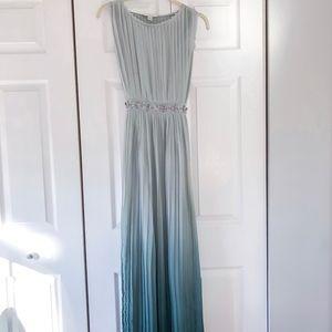 Green Ombré Maxi Dress Lauren Conrad
